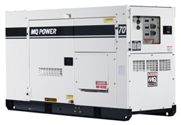 MQ Power Whisperwatt Generator Model DCA-70SSIU2C